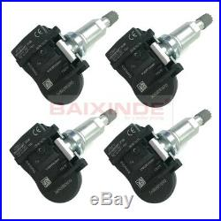 4x TPMS Tire Pressure Monitor Sensors 36106856209 36106881890 433MHZ For BMW