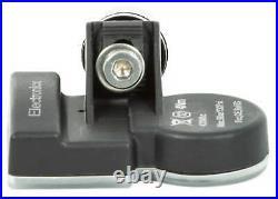 4x TPMS tire pressure sensors metal valve black for BMW 1 Series 3 Series 5 Seri