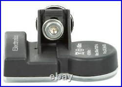 4x TPMS tire pressure sensors metal valve black for VW CC Passat B7 Tiguan 3AA90