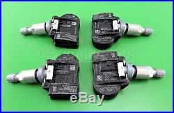 4x Volvo S60 V60 S40 XC70 C70 C30 V50 Tyre Pressure Sensors TPMS 433MHz 31414189