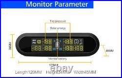 6 Internal Sensor Wireless TPMS Real-time Car Tire Pressure Monitoring System