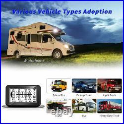 6 Sensors TPMS Tire Pressure Monitoring System for RV/Motor home/Caravan/Buses
