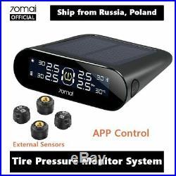 70mai External Sensor Tire Pressure Monitor System Lite APP Control Solar Power