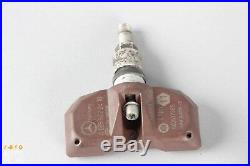 98-06 Mercedes W220 SL600 S500 S55 TPMS Tire Pressure Sensor Set 315 Mhz OEM