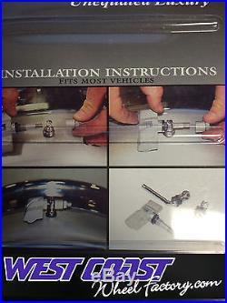 ASANTI TPSM Adaptor Tire Pressure Sensor ADAPTOR 4 pieces VALVE STEM KIT ASANTI