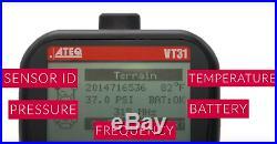 ATEQ VT31 Tire Pressure Sensor Reader and TPMS Reset Tool 100% coverage
