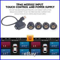Android TPMS341 Tyre Pressure Monitoring System TPMS APK App USB Car Sensors x4