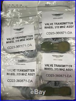 Aston Martin DBS, Rapide, V12 Vantage, DB9 Tire Pressure Monitor Sensor Set of 4