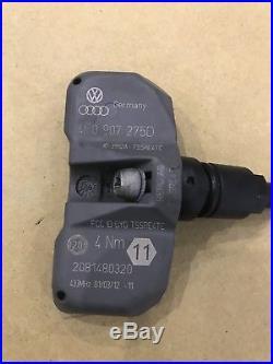 Audi A4 A6 A8 Q7 R8 Rs6 Vw Touareg 433mhz Tyre Pressure Sensor 4f0 907 275 D