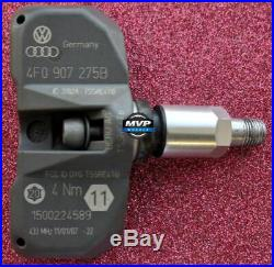 Audi Volkswagen VW TPMS Tire Pressure Sensor Set of 4 4F0-907-275B