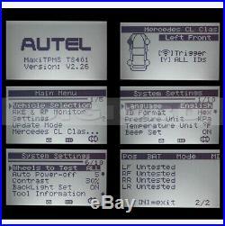 Autel MaxiTPMS TS401 OBD2 TPMS Tire Pressure Sensor Programming Diagnostic Tool
