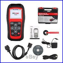 Autel MaxiTPMS TS501 OBD2 TPMS Code Reader Tire Pressure Sensor Decoder Key FOB