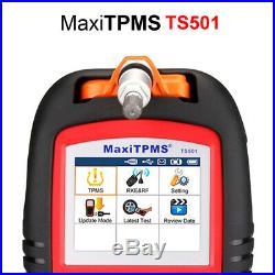 Autel MaxiTPMS TS501 TPMS Read Tire Pressure Sensor Activation Decode Tool