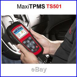Autel MaxiTPMS TS501 TPMS Tire Pressure Sensors Activate and Decode Tool Scanner