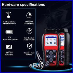Autel MaxiTPMS TS508 TS501 TPMS Diagnostic Activate Tire Pressure Sensor Tool US