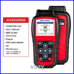 Autel MaxiTPMS TS508K OBD2 TPMS Tire Pressure Sensors Tool Upgrade TS601 TS501
