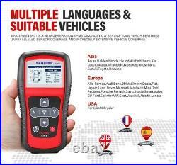 Autel TS401 Diagnostic Tool TPMS Reset Tire Pressure Sensor FOB For GM Toyota VW
