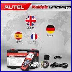 Autel TS401 TPMS Diagnostic Scan Tool Activate Sensor Key FOB Tire Pressure OBD2