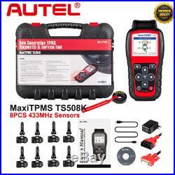 Autel TS508K TPMS Service Tool Activate Tire Pressure Sensor Program ECU 433MHz