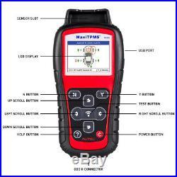 Autel TS508K TPMS Service Tool Activate Tire Pressure Sensor Program ECU Key FOB