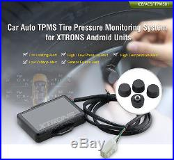 Auto Car TPMS Tire Pressure Monitoring System 4 Sensors For XTRONS Android Units