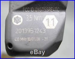 BMW 2006-2011 TPMS RDC Tire Pressure Monitoring Wheel Sensor Sender Set of 4 OEM