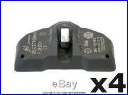 BMW 2006-2011 (TPMS sensor) Tire Pressure Sensor OEM (4) + 1 year Warranty