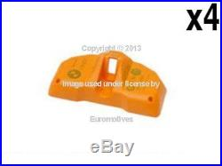 BMW e39 e46 (02-06) e65 e66 Tire Pressure Sensor (x4) TPMS sende rmonitoring