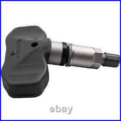 Black 4 Pcs TPMS Tire Pressure Sensor for Chevrolet Corvette C5 C6 1997-2013