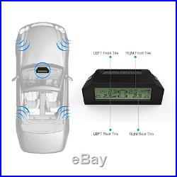 CARCHET TPMS Tyre Pressure Monitoring Intelligent System+4 External Sensors with