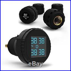 CARCHET TPMS Tyre Pressure Monitoring System+4 External Sensors Cigarette