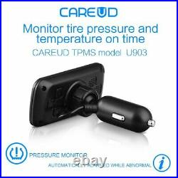 CAREUD 903-NF+ Tire Pressure Monitor System TPMS with 4 Internal Sensors