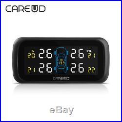 CAREUD U903 Car Wireless TPMS Tire Pressure Monitoring System 4 x Inner Sensors