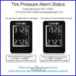 CAREUD U912 Auto Wireless TPMS Tire Pressure Monitor System+4 External Sensors