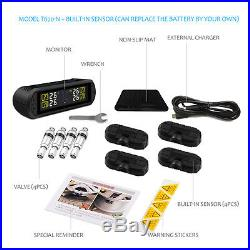 CAREUD Wireless Built-In Tire Pressure Sensor USB Charging Car TPMS T670 NF+