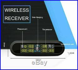CAREUD Wireless Tire Pressure Monitor System TPMS 6 Sensor RV Truck