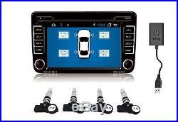 Car Android Sys Navigation TPMS(Tire Pressure Monitoring System)Internal Sensor