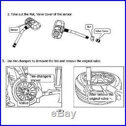 Car TPMS Tire Tyre Pressure Monitoring System + 6 External Sensors Truck Bus