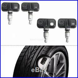 DIY Cigarette Plug TPMS Tire Tyre Pressure Monitor System + 4 Internal Sensors