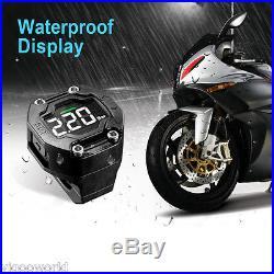 EBAT ET-900AE TPMS MotorBike Motorcycle DIY Tire Pressure Monitoring 2 Sensors