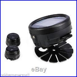 EBAT ET-910AE Wireless TPMS Motorcycle Tire Pressure Monitor 2 Sensors IP67
