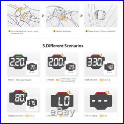 EBAT TPMS MotorBike Motorcycle DIY Tire Pressure Monitoring Sensors