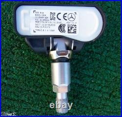Factory Mercedes Benz Tire Pressure Sensors Set 4 OEM Monitor TPMS A0009050030