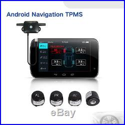 For All Android GPS Auto Car TPMS Tire Pressure Monitor System Exterior Sensor