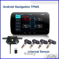 For All Android GPS Car DVD TPMS Tire Pressure Monitoring System Internal Sensor