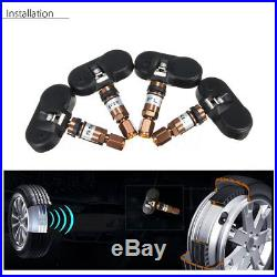 For Android GPS Car DVD TPMS Tire Pressure Monitoring System 4x Internal Sensor