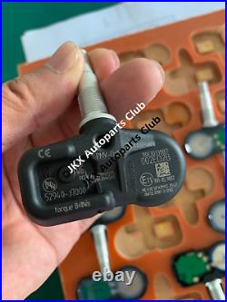 For Kia Ceed 2019- Tire Pressure Monitor Systems Tpms Sensor 4Pcs 52940J7000