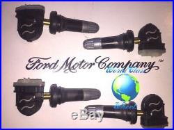 Ford Fusion Tpms Sensors Oem Hc3t-1a189-a (4) Tire Pressure Sensors 2017-18