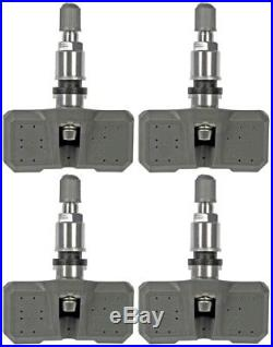 Four Piece Set Dorman 974-009 TPMS Tire Pressure Monitoring Sensors New Lifetime
