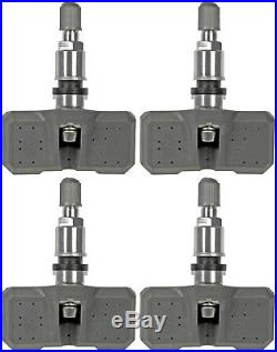 Four Tire Pressure Monitoring System (TPMS) Sensor (Dorman 974-007)